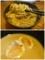 麺をスープに絡める/味玉パッカン