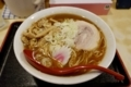 煮干しらーめん(650円)+麺特盛・2玉(100円)