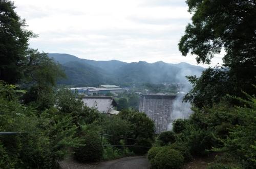 裏山からの景色