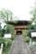 アニメの聖地の仁王門