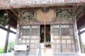 本堂外陣の彫刻