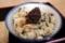 しゃくし菜ご飯・生姜の佃煮のせ