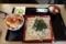 かき揚げ丼セット(1300円)