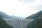 ループ橋から見た滝沢ダム