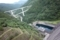 滝沢ダムからループ橋を望む