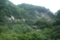 中津川の岩壁