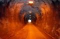 手堀りのトンネル