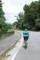 札所間最長距離の17kmを走る