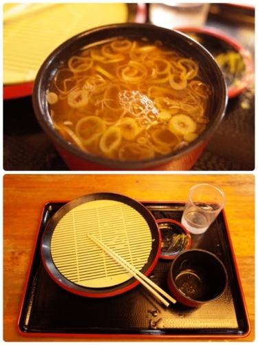 蕎麦湯をKK