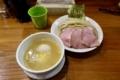 鶏つけ麺【?盛?トッピング】(?円)