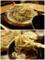 大盛の地粉蕎麦を手繰る