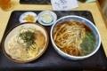 カツ丼セット【温かい蕎麦】(840円)