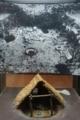 姥山貝塚の人骨五体発掘の復元模型