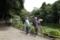 いつもの公園でカワセミを狙うカメラマン