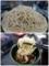 大盛りのもり蕎麦を手繰る