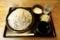 更科蕎麦【大盛500g】(650円)+とろろ(100円)