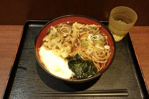 舞茸とろろそば(560円)+大盛(100円)