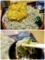 特盛のかき揚げ蕎麦を手繰る