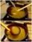 カレー蕎麦湯