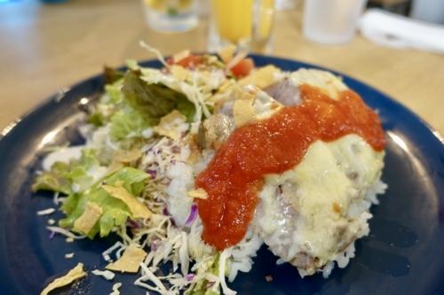 日替りランチ ローストポークチーズ焼 トマトソース