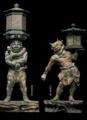国宝・天燈鬼立像、龍燈鬼立像