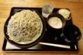 恵み蕎麦【大盛550g】(650円)+とろろ(100円)