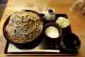 ダッタン蕎麦【特盛700g】(800円)+とろろ(100円)