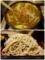 カレーつけ汁と大盛りの蕎麦