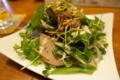 豚レバー燻製サラダ仕立て