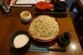 とろろせいろ【細打】(855円+税)+蕎麦大盛り(330円+税)