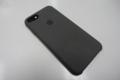 新たに購入した公式iPhone8シリコンケースのダークオリーブ