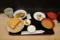とうめし定食(670円)+ライス大盛(50円)
