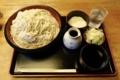 更科蕎麦【特盛700g】(800円)+とろろ(100円)