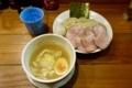 鶏つけ麺【?盛?トッピング】?