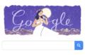 今日のグーグルはテレサ・テンの誕生日