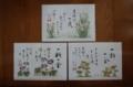 母が購入したランチョンマット(3枚1000円)