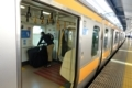 東京で中央線に乗換