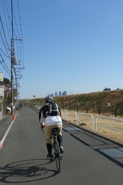 多摩川に戻る