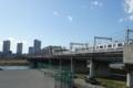 東海道新幹線と横須賀線