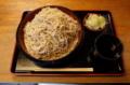 恵み蕎麦【特盛700g】(800円)+鯖出汁変更(0円)