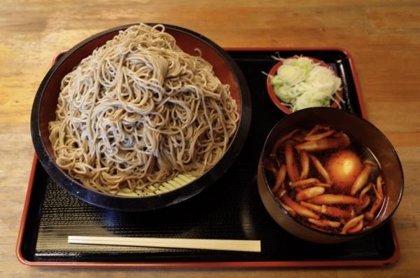 ダッタン蕎麦【特盛700g】(800円)+麻辣汁(150円)