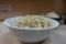 盛られ気味の麺