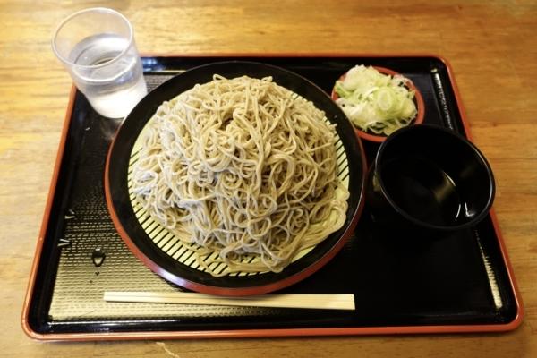 地粉切り【大盛550g】(800円)+鯖出汁変更(0円)