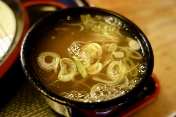 鯖出汁香る蕎麦湯