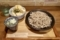 2.「十割そば」(冷)と「とり天丼」(740)+そば大盛(ランチタイム無料)
