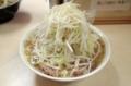 小ラーメン(700円)ヤサイ