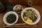 バジル冷そば(850円)+大盛(100円)+牛スジごはん(250円)