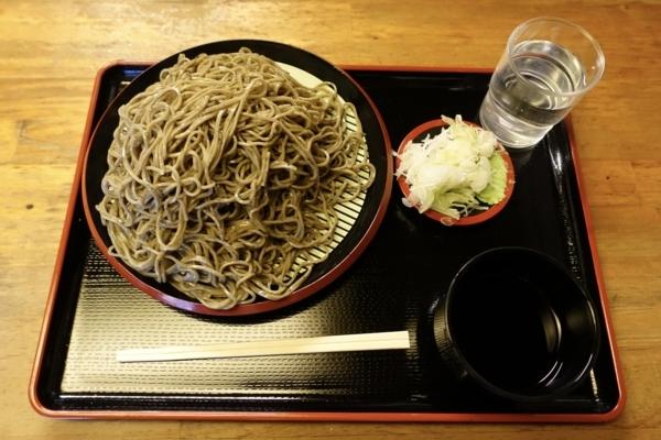 黒胡麻ダッタン蕎麦【大盛】(750円)