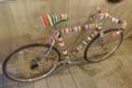 シンボルの自転車