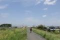 再びサイクリングロードへ